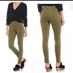 Free People Size 29 Jeans Raw Hem High Rise Pants